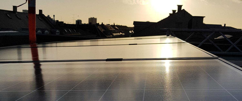 solcelleanlæg 1,2kw
