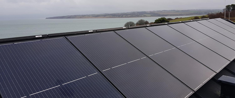 solcelleanlæg 2,4 kw