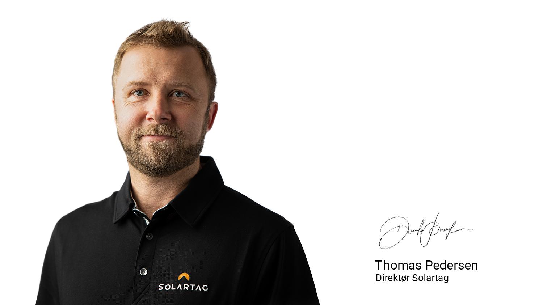 Thomas Pedersen, Direktør Solartag